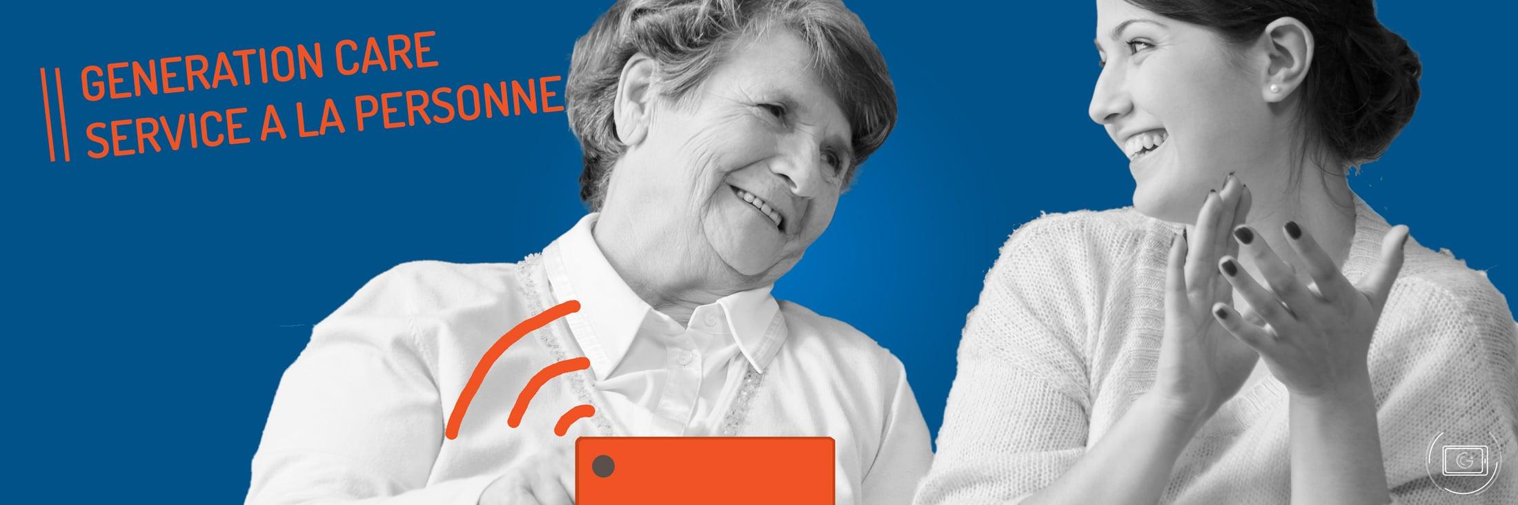 Generation Care Telesuivi Medical pour les entreprises de service à la personne